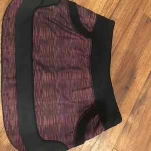 Multi wee stripe run skirt